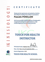 touch for health certificat diplome